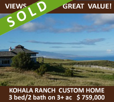 Amazing Value in Kohala Ranch!